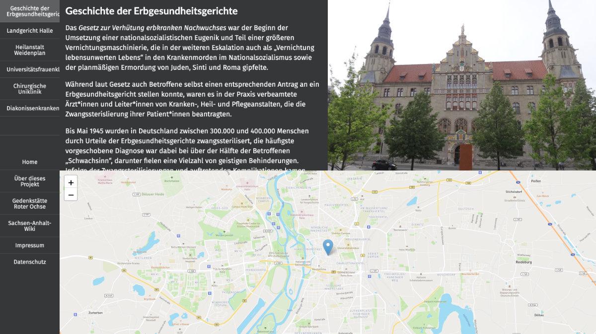 Screenshot von: Das Erbgesundheitsgericht in Halle