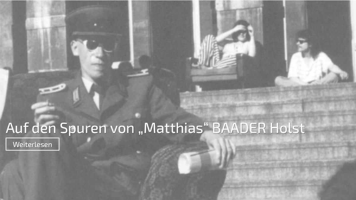 Screenshot von: Kein Reich komme — auf den Spuren von Matthias Baader Holst