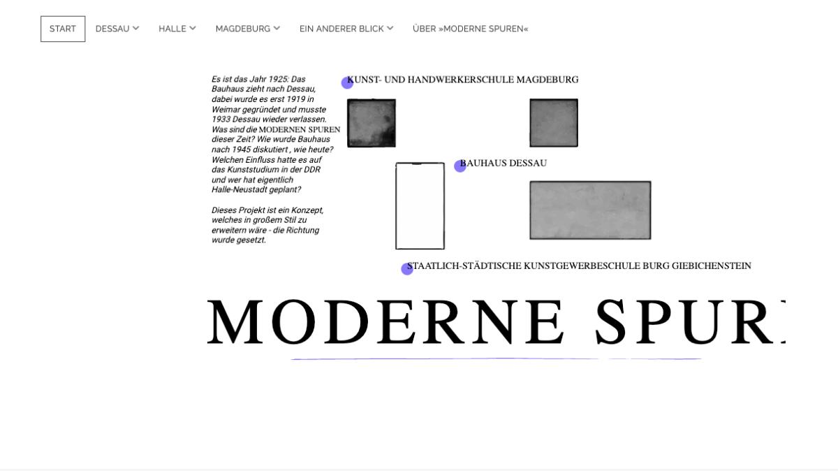 Screenshot von: Moderne Spuren – Das Bauhaus in Sachsen-Anhalt