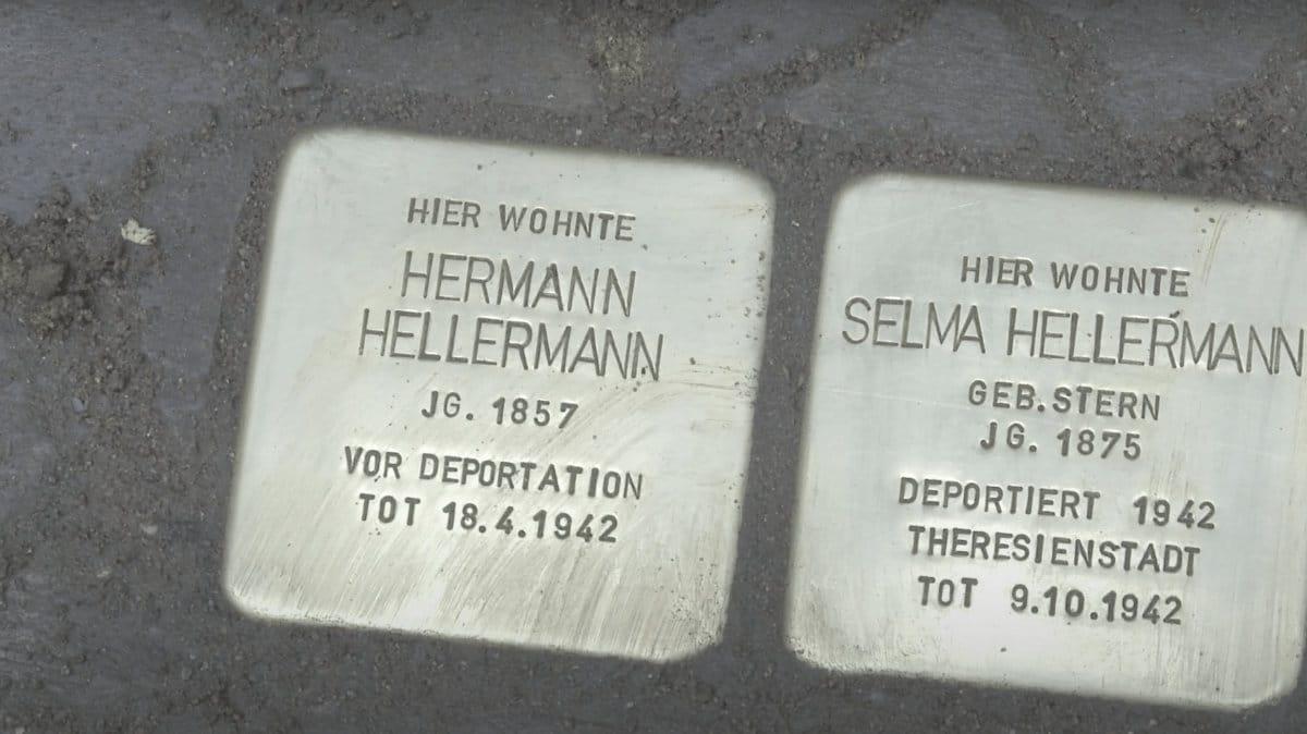 Screenshot von: Von Stolperstein zu Stolperstein